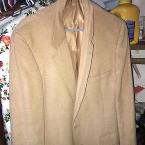 Other - A blazer made with a 100% camel hair